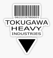 MGS - Tokugawa Heavy Industries Sticker