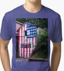 An All-American Garage Tri-blend T-Shirt