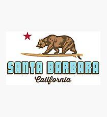 Santa Barbara - California. Photographic Print