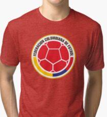 Federacion Colombiana de futebol - colombian soccer Tri-blend T-Shirt