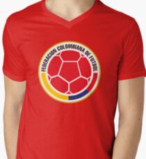 Federacion Colombiana de futebol - colombian soccer Men's V-Neck T-Shirt