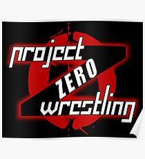 PZW [Project Zero Wrestling] Poster