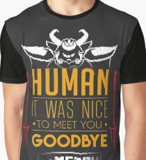 Asgore is glad to meet you Graphic T-Shirt