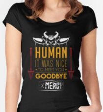 Asgore is glad to meet you Women's Fitted Scoop T-Shirt