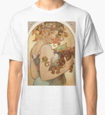 Alphonse Mucha - Fruit  Classic T-Shirt