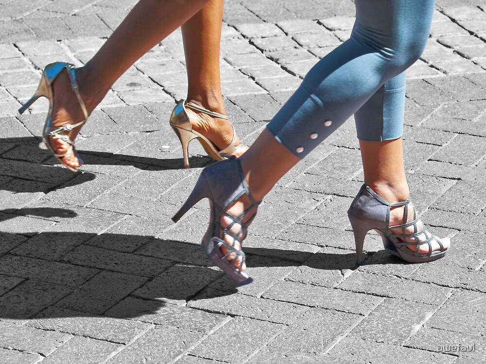 In step by awefaul
