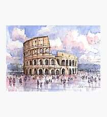 Il Colosseo, Roma  Photographic Print
