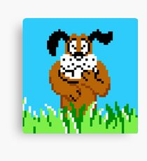 Duck Hunt from NES Canvas Print