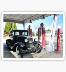 Vintage Car, Vintage Texaco Sticker