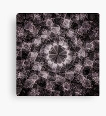 Fractured Crystal Canvas Print