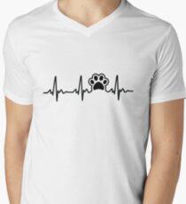 Paw Lifeline Men's V-Neck T-Shirt