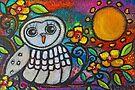 Watching You, Owl II by Juli Cady Ryan