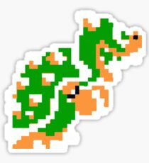 8-bit Bowser Sticker