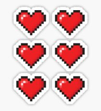 Love Hearts Sticker