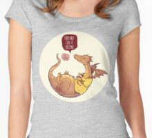 Shipping_Merlin Women's Fitted Scoop T-Shirt