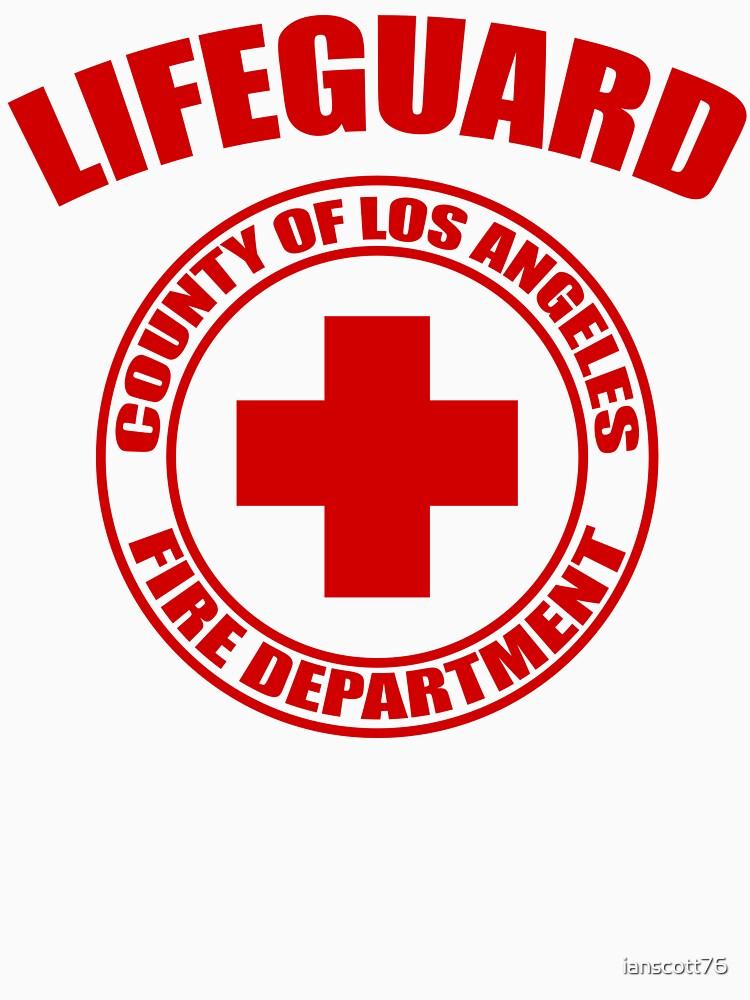 L.A. Co. Lifeguard - white by ianscott76