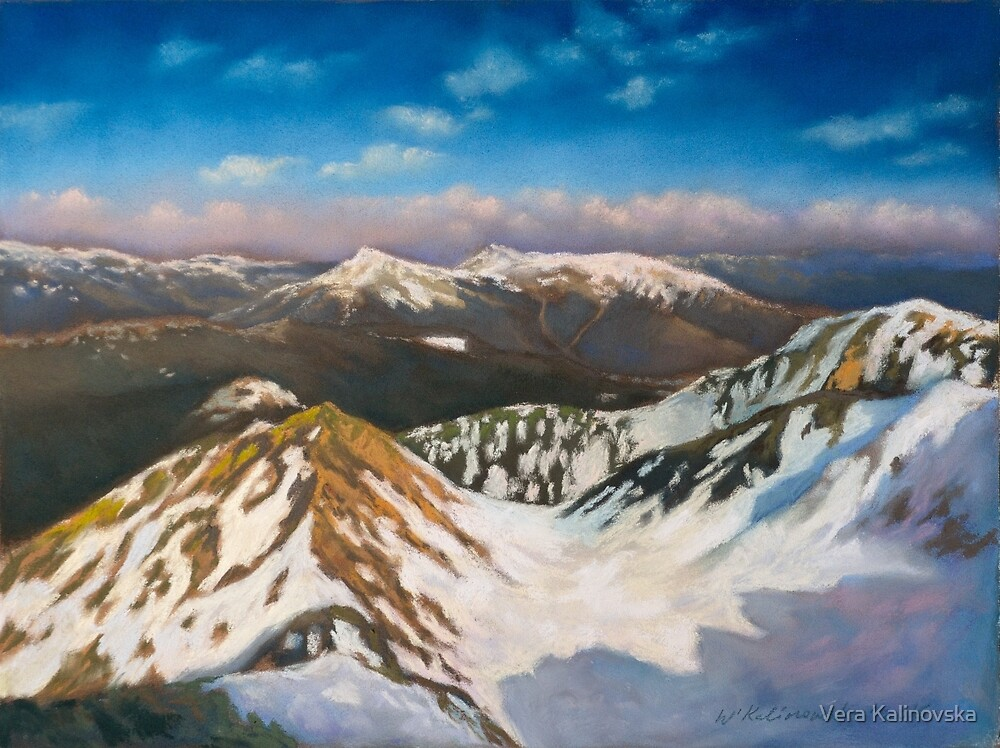 In the Mountains by Vira Kalinovska