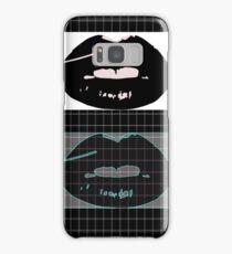lips graph Samsung Galaxy Case/Skin