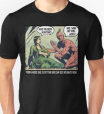Humorous Vintage Comics- Bear Meat Joke T-Shirt