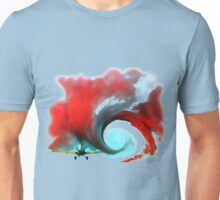 Airplane vortex Unisex T-Shirt