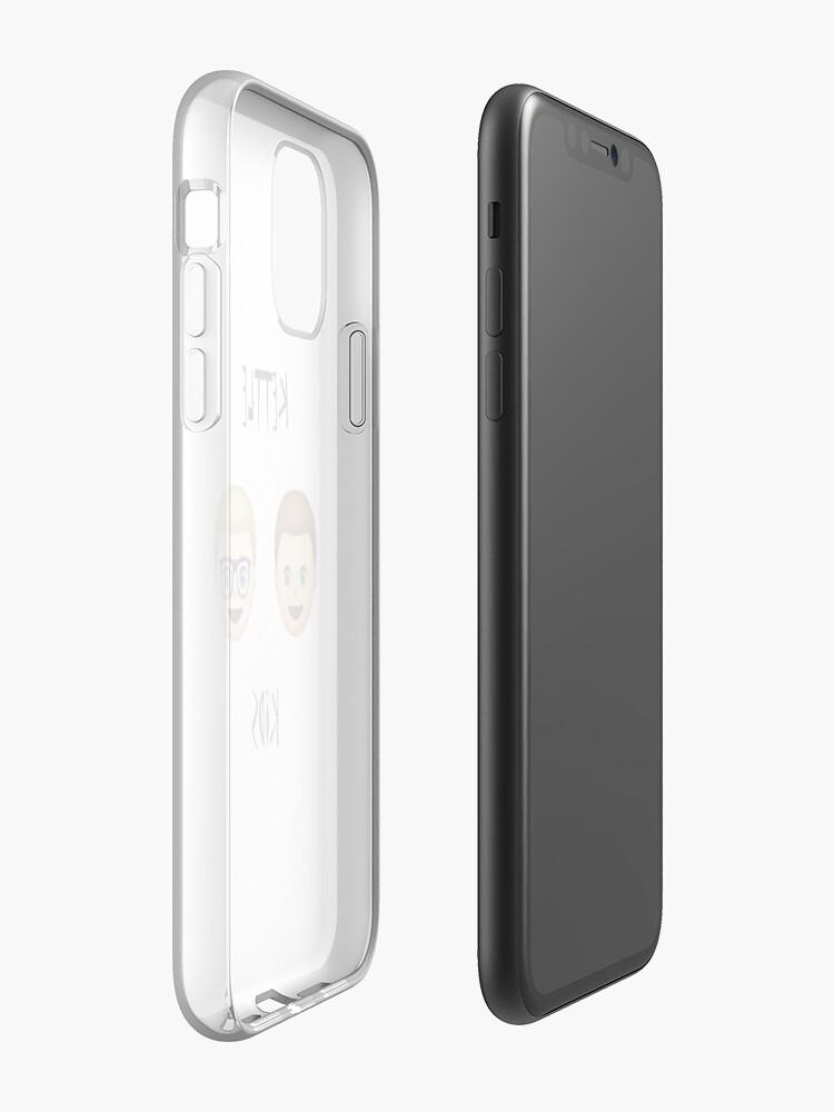 coque iphone 8 silicone - Coque iPhone «Bouilloire Enfants Emojis», par KettleKids