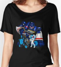 The Sonic Duo Women's Relaxed Fit T-Shirt
