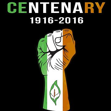 Easter Rising Centenary T Shirt 1916 - 2016 by bitsnbobs