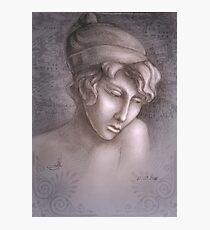 Greek woman Sapho Photographic Print