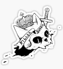 Queen Cat Sticker