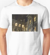 New York Night - Graceful Mansions Through the Naked Tree Branches T-Shirt