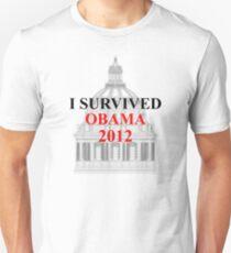 I SURVIVED OBAMA 2012 T-Shirt