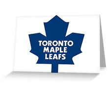 Maple leafs greeting cards by jody seidel redbubble greeting card bookmarktalkfo Images