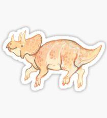 teensy triceratops Sticker