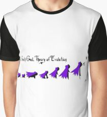 Goth Gal Theory of Evolution Graphic T-Shirt