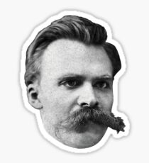 Nietzsche Cutout Sticker