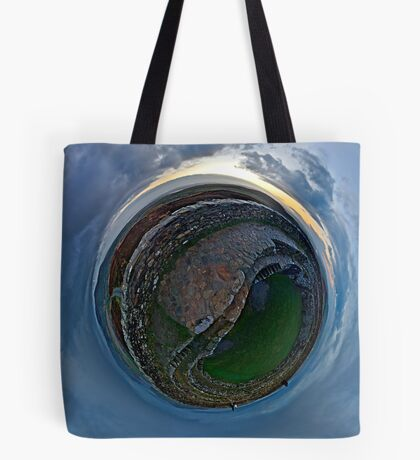 Winter Solstice Dawn over Grianan, Donegal, Ireland Tote Bag