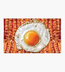 Bacon & Eggs Photographic Print