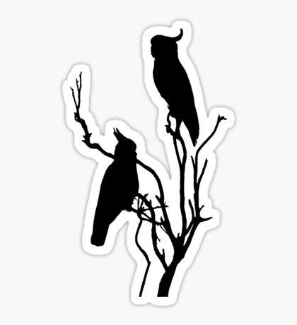 Wild Cockatoos Sticker
