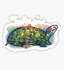 Box Turtle Animal Ally Sticker
