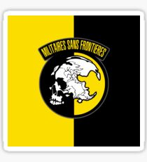 MGS - Militaires Sans Frontieres Logo Sticker