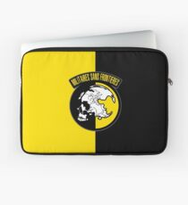 MGS - Militaires Sans Frontieres Logo Laptop Sleeve