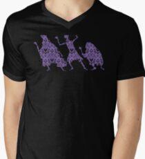 999 Happy Haunts Men's V-Neck T-Shirt