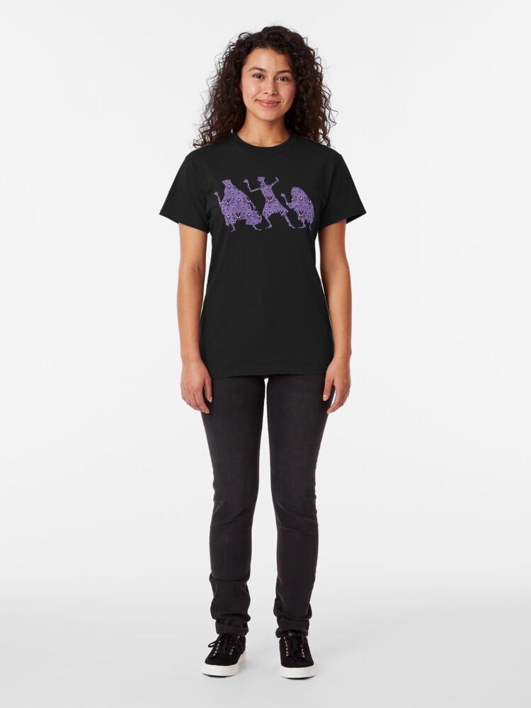 Alternative Ansicht von 999 glückliche Spukplätze Classic T-Shirt