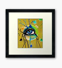 eye sphere III Framed Print