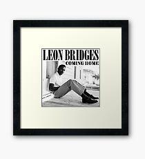 HITS LEON BRIDGES LIVE 2016 ESTR01 Framed Print