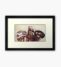 Dead Broke Man Framed Print