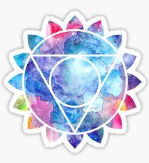 Chakra Vishuddha Sticker