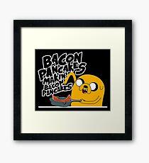"Jake - Adventure Time ""pancakes"" Framed Print"