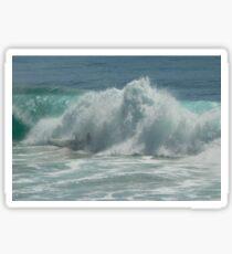 Surfing Burleigh Style Sticker
