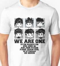 EXO (EXO-K) We Are One Chibi Unisex T-Shirt